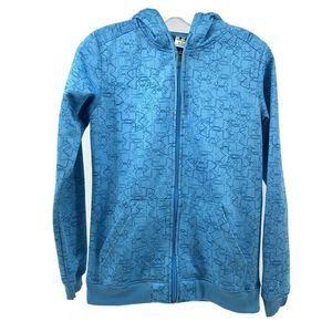 Under Armour XS Turquoise Full Zip Jacket